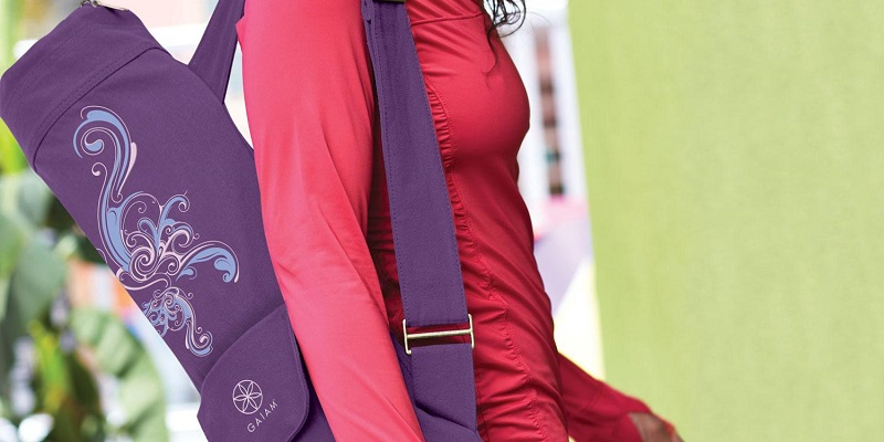 full zip gaiam yoga mat bag