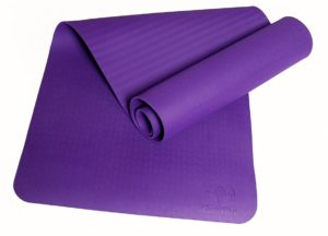 clever yoga better grip thick yoga mat