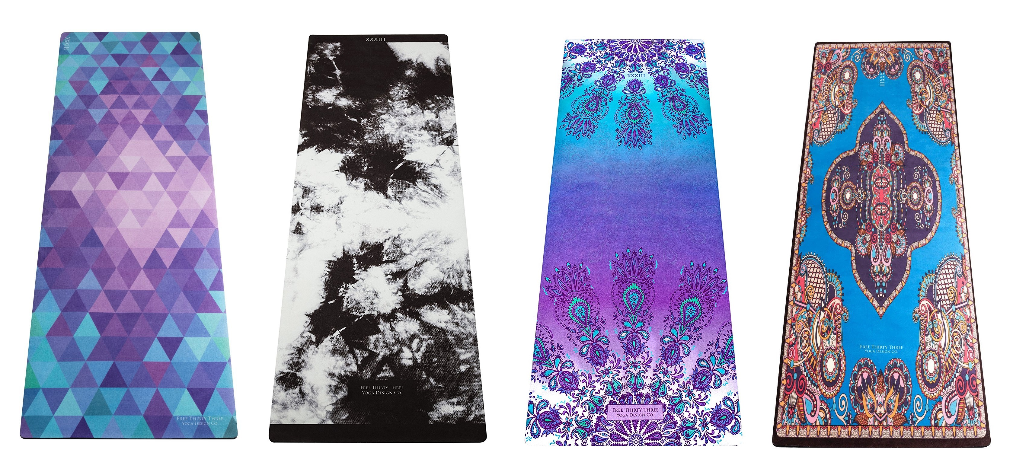 free thirty three yoga mat designs