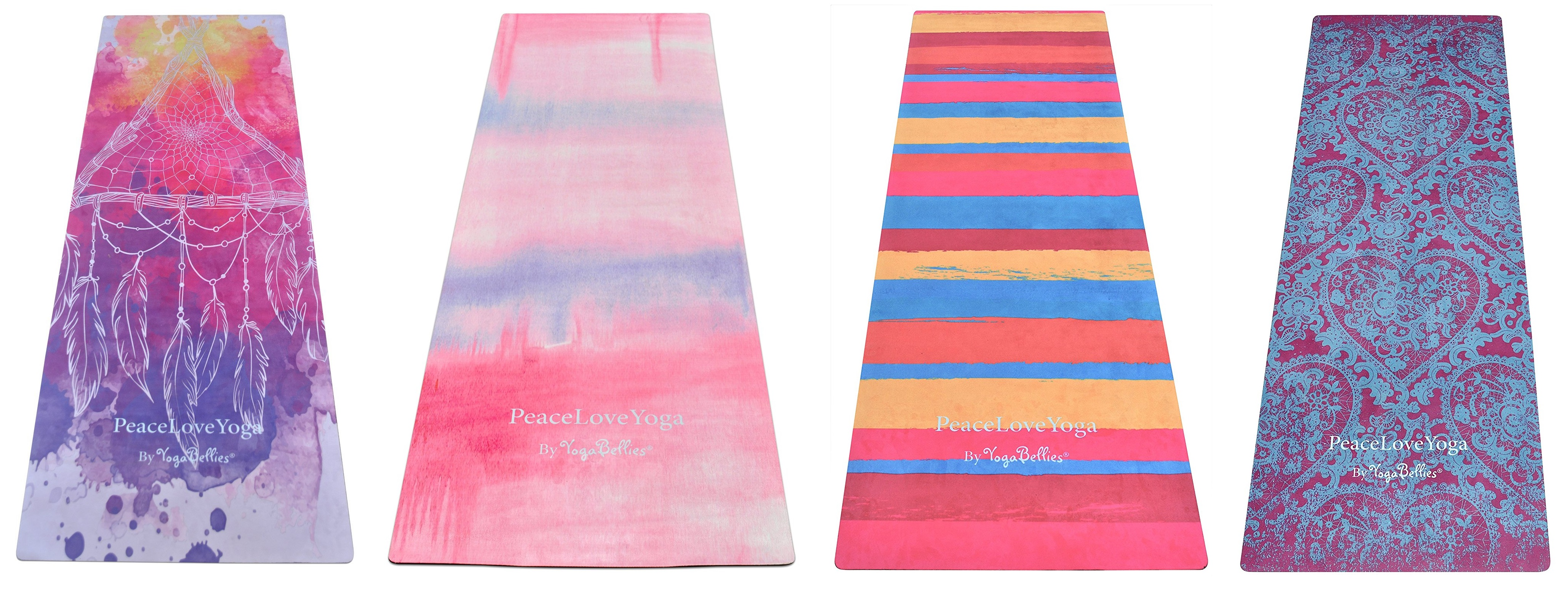 peaceloveyoga pretty yoga mat