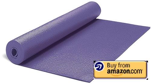 gaiam solid yoga mat