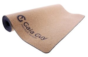 gaia guy natural cork rubber yoga mat