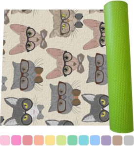 best cat print yoga mat reviews