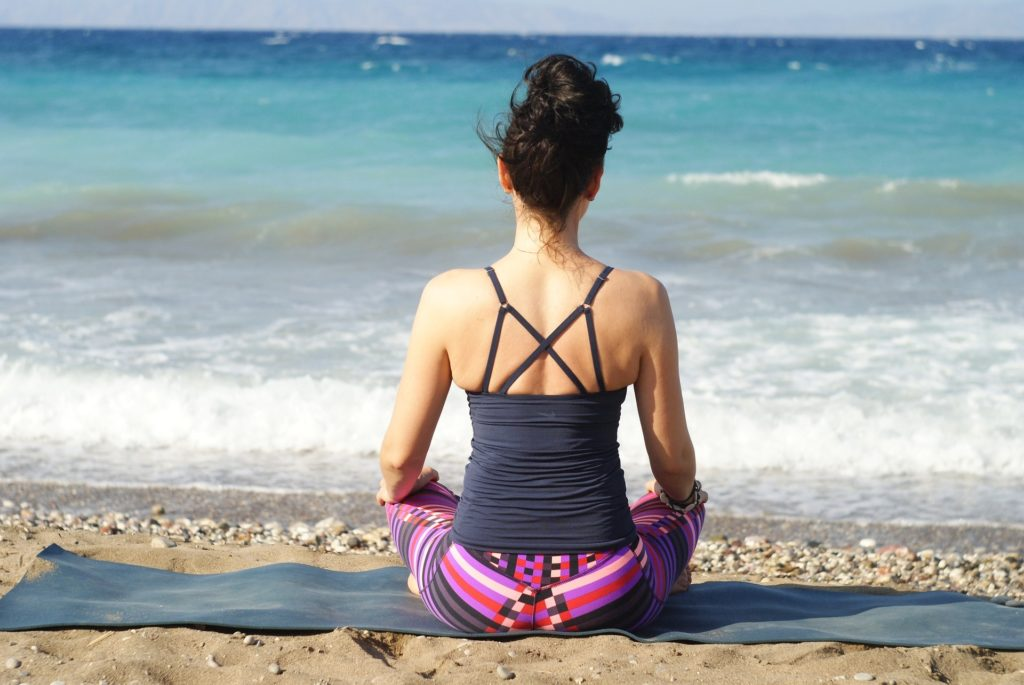 home yoga meditation guide