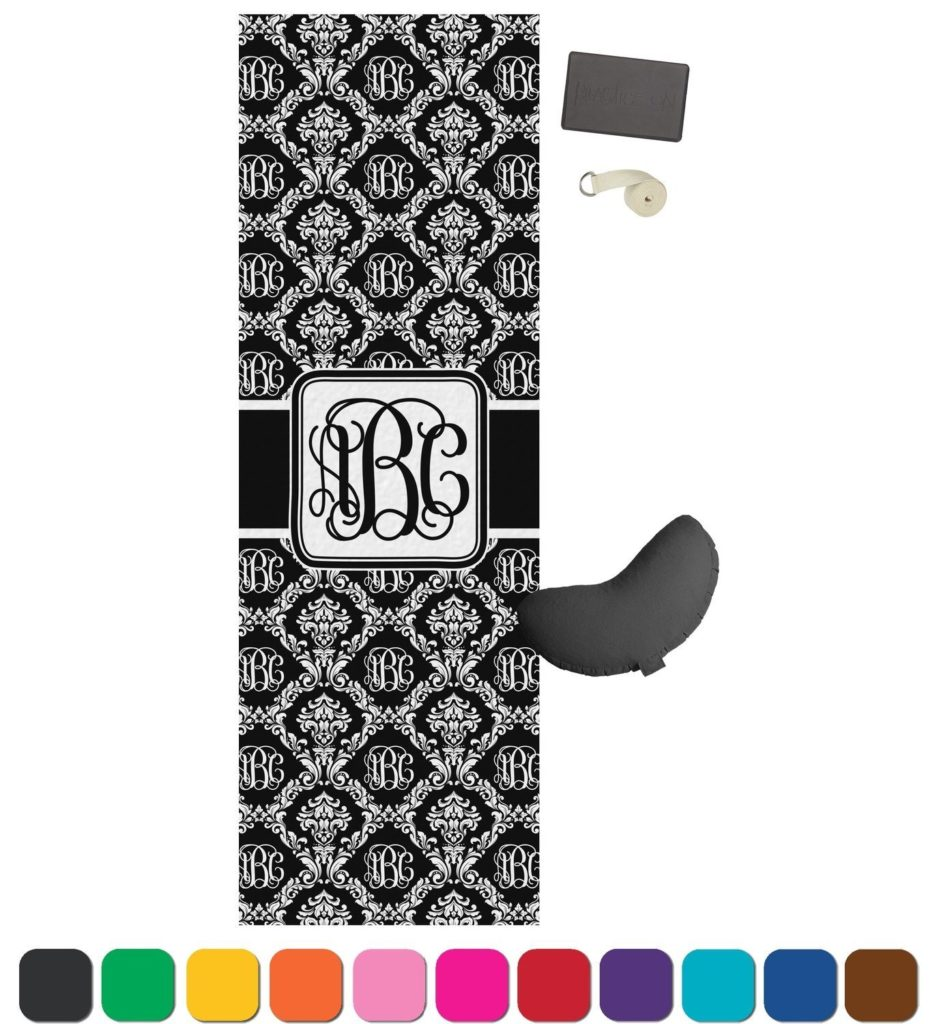 best monogrammed yoga mat review